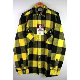 ROTHCO / EXTRA HEAVYWEIGHT FLANNEL SHIRTS / yellow×black