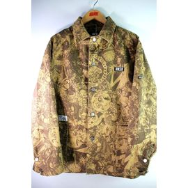 "RULER / ""WAY OF LIFE"" COVERALL JACKET / khaki"