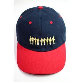 """RULER / """"ROCKERS"""" LOW PROFILE BASEBALL CAP / navy×red"""