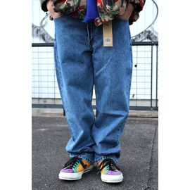 LEVI'S / 550 RELAX FIT DENIM PANTS / stone wash indigo