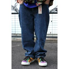 LEVI'S / 550 RELAX FIT DENIM PANTS / mid wash indigo