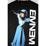 "EMINEM / ""ON THE MIC"" Tee / black"