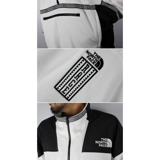 """THE NORTH FACE / """"92 RAGE COLLECTION"""" FLEECE ANORAK JACKET ..."""